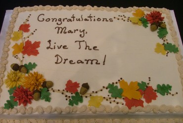 Great Cake Message