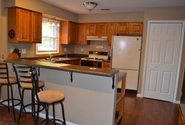 Rental home kitchen